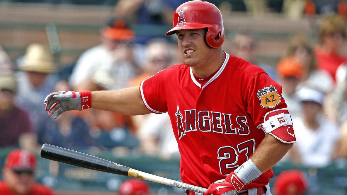 Mike Trout Close To Finalizing 430m Deal With Angels